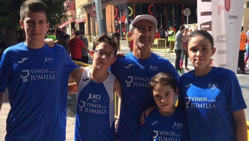 Dos victorias, un segundo y un tercer puesto para el Athletic Club Jumilla en la Carrera Popular de la Mujer 'La Villa'