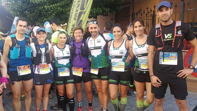 Gran actividad para Hinneni Trail Running Jumilla con participación hasta en tres pruebas distintas