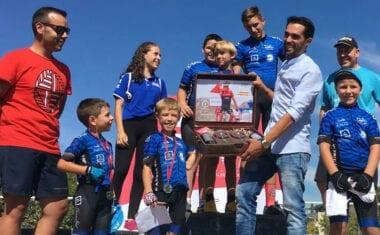 La Escuela de Ciclismo Jumilla estuvo en la 3ª prueba de escuelas de la Fundación Alberto Contador