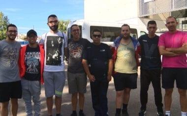 El Club Baloncesto de Aspajunide ya se encuentra en Burgos para la disputa del Campeonato de España FEDDI