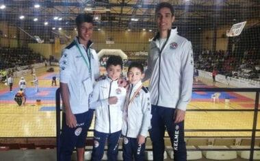 Bronce para el Club Taekwondo Jumilla en el III Open Internacional Don Quijote