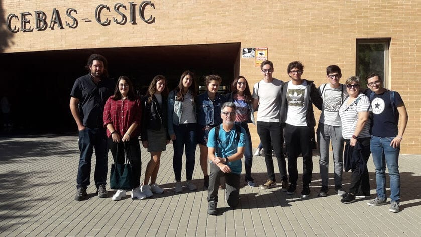 Alumnos del IES Infanta Elena  realizarán proyectos con investigadores de la Universidad de Murcia, IMIDA y CSIC