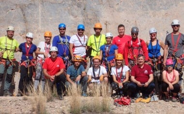 Abierto el plazo de inscripción para el curso de descenso de cañones y barrancos del Grupo Hinneni