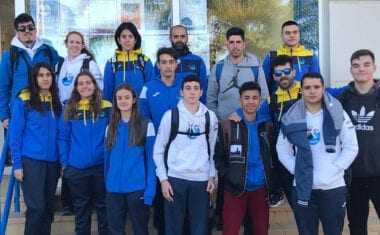 Dos puestos de podio máster para el Club Natación Jumilla en la 1ª jornada de la Liga Regional