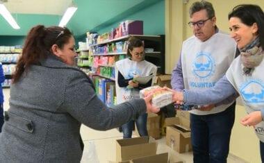 La VII Edición de la Gran Recogida de Alimentos de Cáritas cumple las expectativas un año más