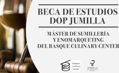 Se inicia el proceso de candidaturas para optar a la beca de estudios de Sumillería que ofrece la DOP Jumilla