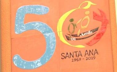 En el Colegio Santa Ana comienzan las celebraciones de su 50 Aniversario
