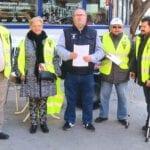 La Plataforma de Pensionistas de Jumilla organiza una concentración en el Jardín del Caracol