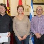 Firmado convenio 2019 por 2.000 euros entre Ayuntamiento y Grupo Hinneni