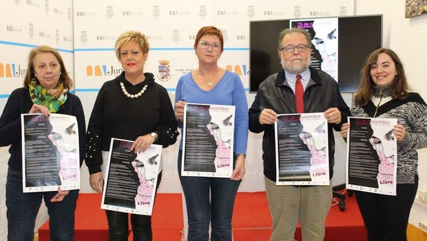 Presentadas las actividades del 25N con el lema 'Te apoyamos para que seas libre'