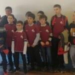 Se escapó el podio para los equipos del Club Ajedrez Coimbra en el Regional sub-12