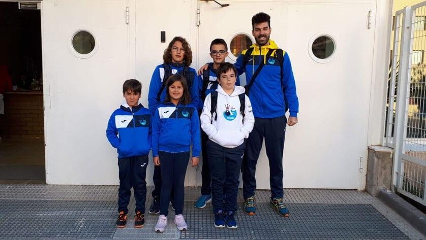 El Club Natación Jumilla no faltó a la segunda jornada de la Liga Regional para las categorías menores