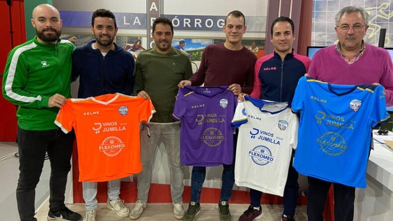 Miembros del Vinos DOP Jumilla FS fueron los invitados al programa de deportes de La Prórroga de esta semana