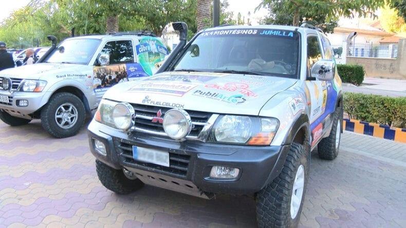 Los vehículos se reunieron en el paseo del Poeta Lorenzo Guardiola que era el punto de salida de la ruta