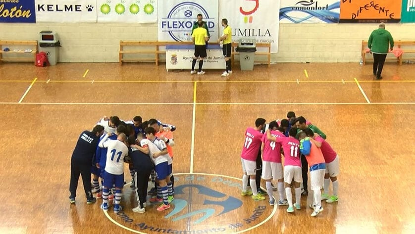 Partido por el liderato entre Futsal Molina y el Vinos DOP Jumilla FS