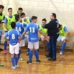 El equipo de Primera juvenil de la Escuela de Fútbol Sala Bodegas Carchelo avanza con paso firme