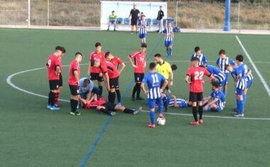 Gran victoria de los juveniles  de Primera de la Escuela de Fútbol Base Jumilla
