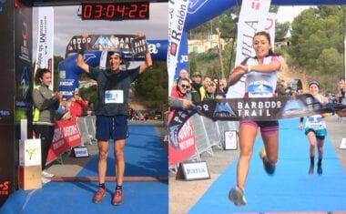 Antonio Martínez y Gemma Arenas fueron los vencedores de la VI Barbudo Trail