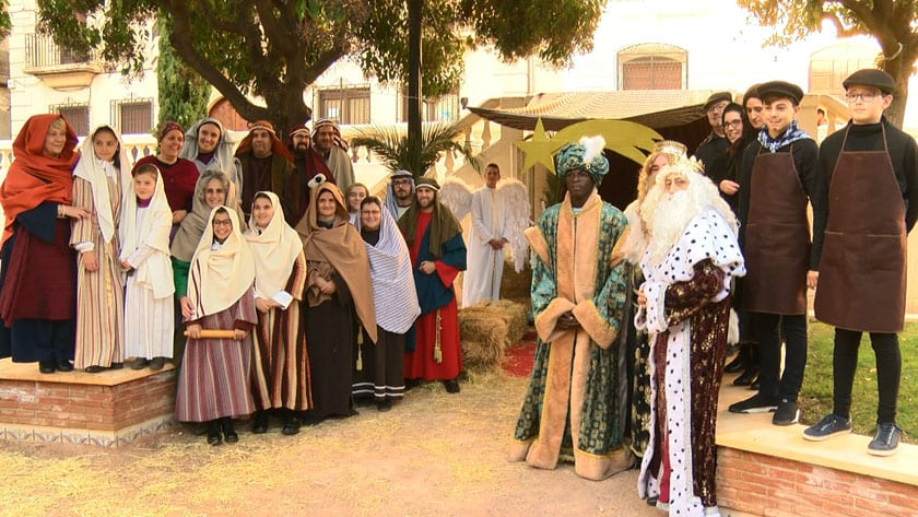 Belén viviente de la Junta Central de Hermandades de Semana Santa