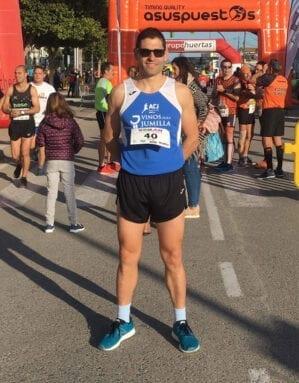 Buena actuación de Marcos Pérez en la Media Maratón de Torre Pacheco