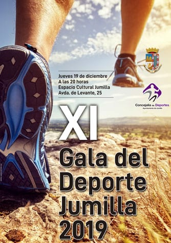 Cartel de la XI Gala del Deporte de Jumilla