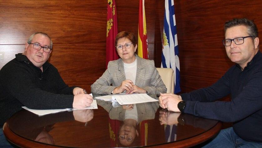 Convenio de colaboración entre el Ayuntamiento de Jumilla y la Asociación Tambores Cristo de la Sangre
