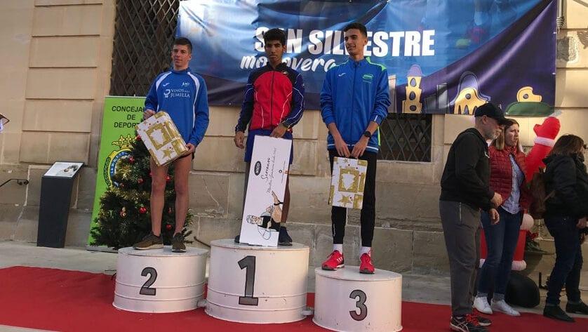 El Athletic Club Vinos DOP Jumilla subió al podio en la San Silvestre de Monóvar