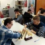 El Club Ajedrez Coimbra cierra el año con su  Torneo Social Navideño