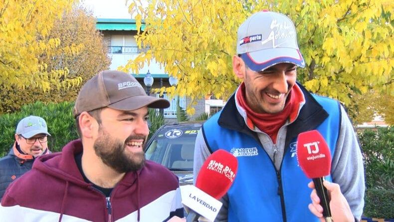 El equipo jumillano en la carrera lo componen José Tomás y Pablo Cañavate