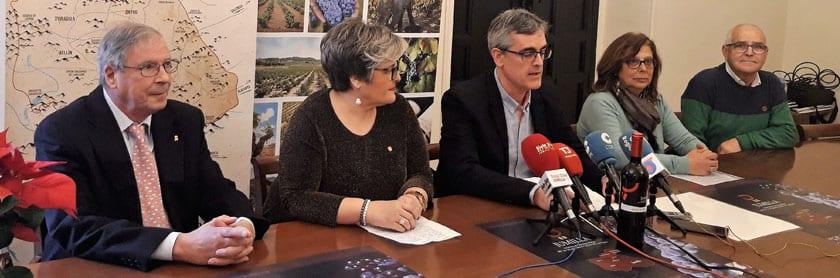 El presidente del CRDOP Jumilla, Silvano García, preside el acto