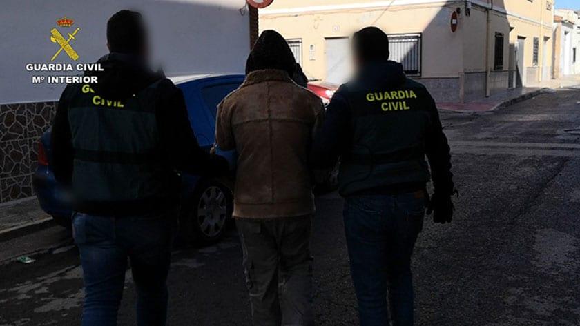 Ingreso en prisión de los cabecillas y varios integrantes de la organización criminal