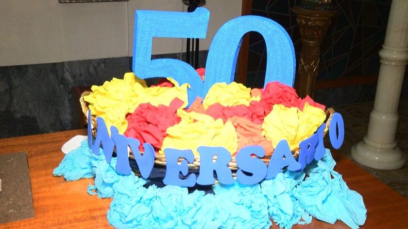 La inauguración se realizó en el Centro Concertado Santa Ana con motivo de la celebración de su 50 Aniversario