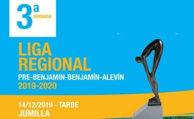 La Liga Regional de Natación para las categorías menores hace parada en Jumilla