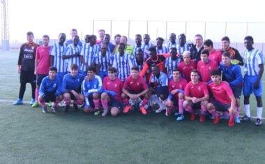 Partido benéfico entre un combinado africano y la Escuela de Fútbol Base Jumilla