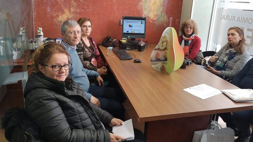 Reunión de equipos técnicos de los Grupos de Acción Local Nordesde y Svilengrad de Bulgaria