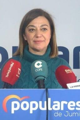 Seve González, presidenta de los populares jumillanos