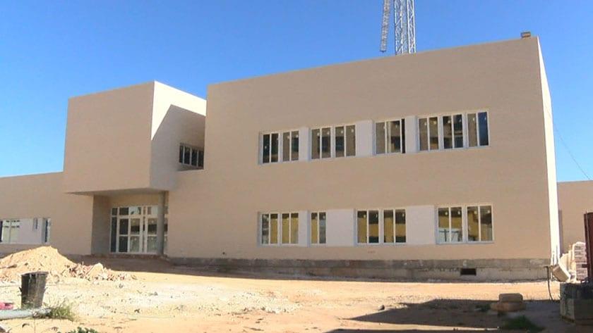 Exterior del nuevo edificio