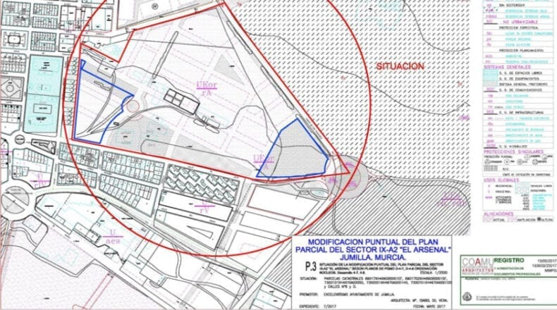 Plan Parcial donde se ubicará el CIAR
