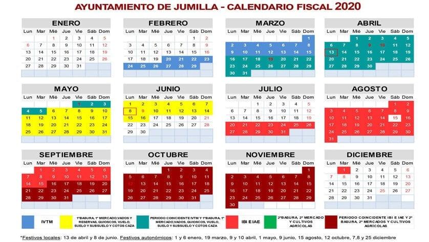 Gestión Tributaria recuerda las fechas claves del calendario fiscal local de 2020