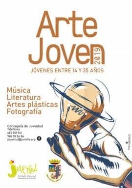 Cartel del Concurso Arte Joven 2019