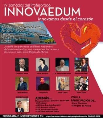 Cartel de las IV Jornadas Innovaedum