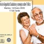 Charla sobre Seguridad Ciudadana y Educación Vial en la Asociación de Viudas de Jumilla