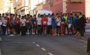 Decenas de escolares participaron en el Cross Fiestas San Antón Jumilla