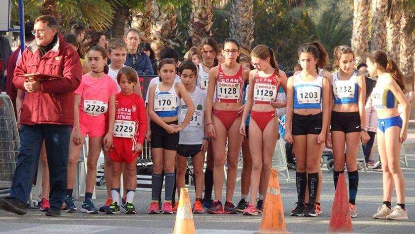 Cuatro puestos de podio para el Athletic Club Jumilla en el Campeonato Regional Individual y por Equipos de Marcha en Ruta