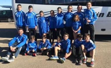 Tres puestos de podio para el Athletic Club Vinos DOP Jumilla en la primera jornada de la Liga Regional de Cross