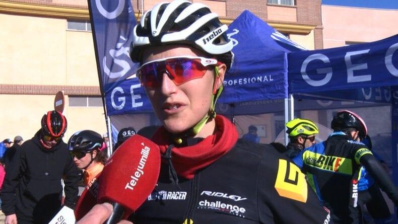 Elena Lloret vencedora femenina de la 28 MTB San Antón Jumilla