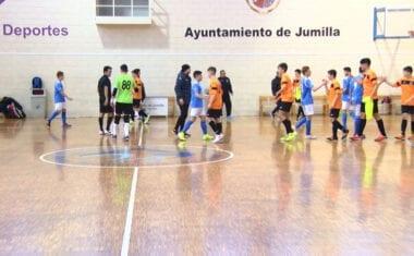Los cadetes de la Escuela de Fútbol Sala Bodegas Carchelo no pudieron pasar del empate en casa