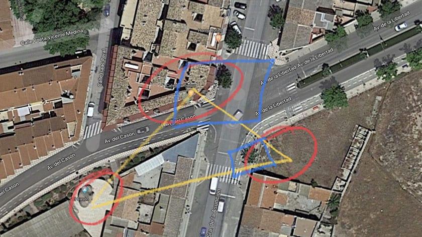En esta esquina confluyen tres yacimientos romanos