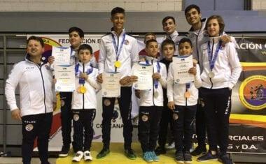 Cinco medallas para el Club Taekwondo en el II Open Internacional Ciudad de Murcia