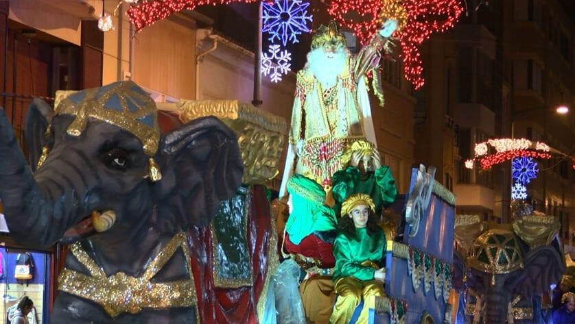 Concluyen los actos navideños con la Cabalgata de Reyes Magos
